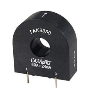 Mini high-frequency current transformer TAK8350-200 Rated input 100A - PowerUC