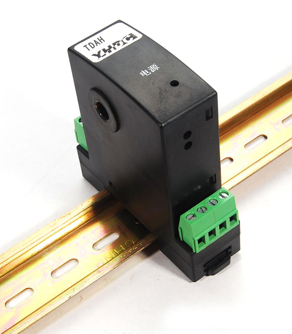 DC current transducer TDAH Rated input 1A 5A 10A 20A 30A 40A 50A Rated output 0-20mA; 4-20mA;  0-5V; 1-5V; 0-10V - PowerUC