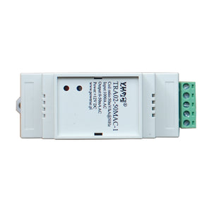 Rogowski coil Integrator TRA02-50M AC-1 Rated input 100A 600A 1000A 3000A 6000A Rated output 0-50mA