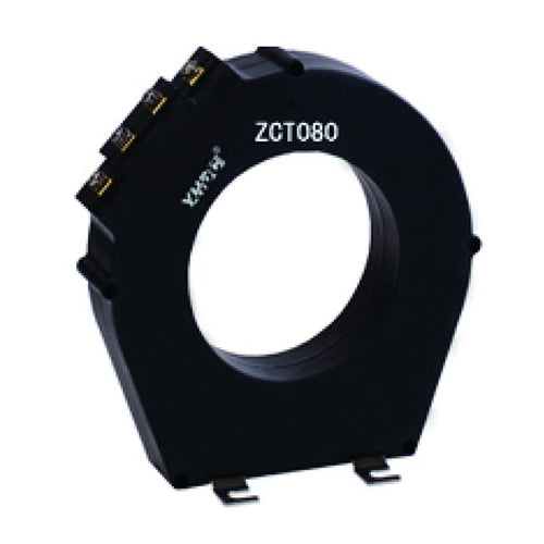 Zero sequence current/leakage current transformer ZCT080 rated input 200mA - PowerUC
