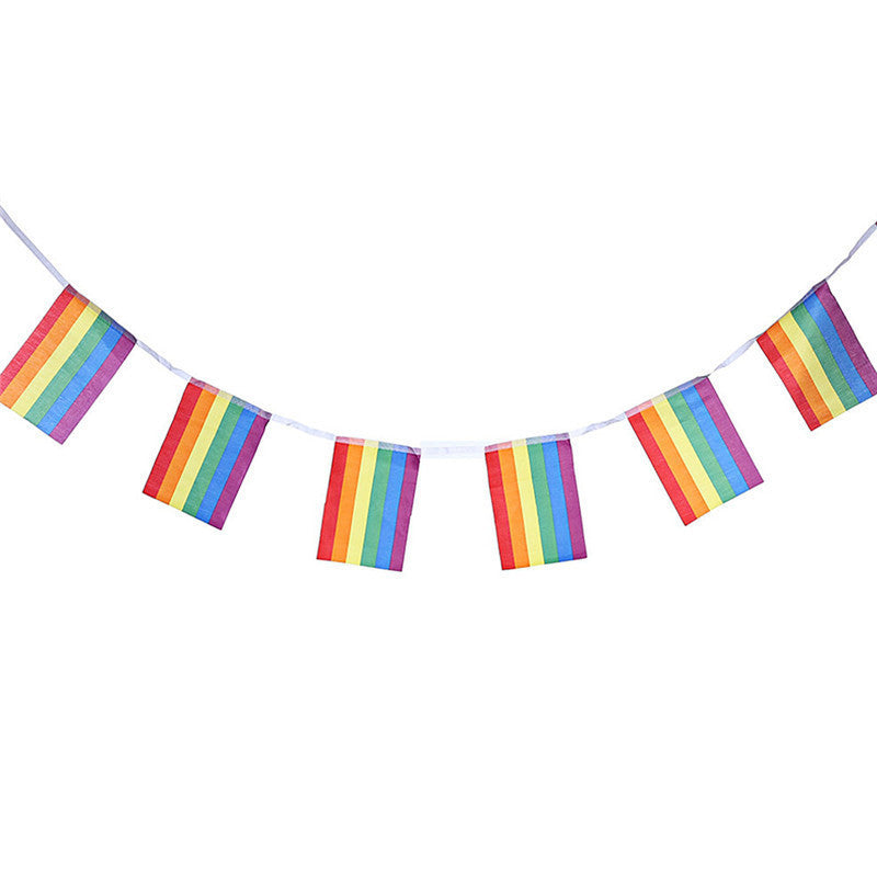 Free Rainbow Flag Banner - freeloveapparel