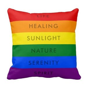 Pride Quote Pillow - freeloveapparel