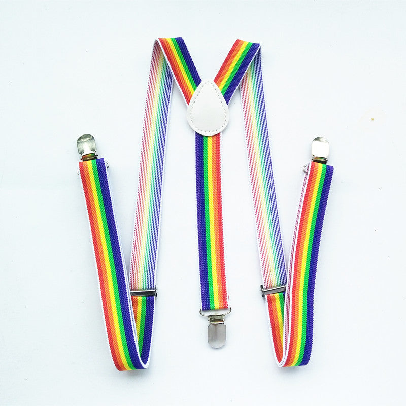 Free Rainbow Suspenders (Today Only) - freeloveapparel