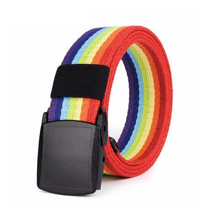 Rainbow Buckle Belt - freeloveapparel