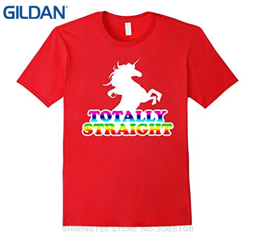 Totally Straight T-Shirt - freeloveapparel