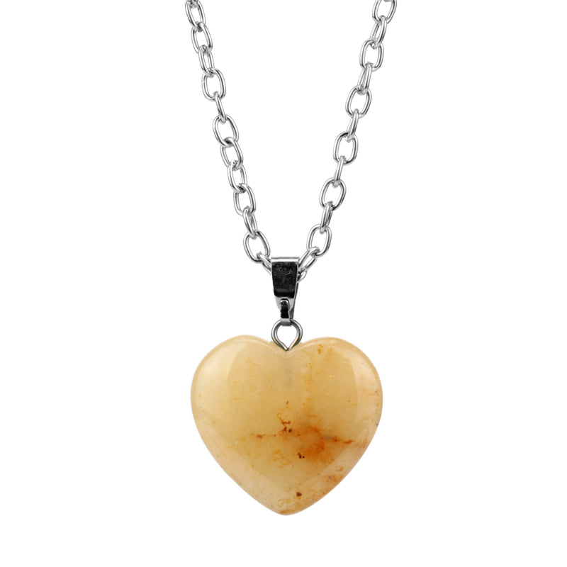 Valentines Day Natural Stone Heart - freeloveapparel