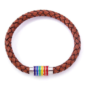 Rainbow Accent Bracelet - freeloveapparel