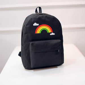 Rainbow Book Bag - freeloveapparel