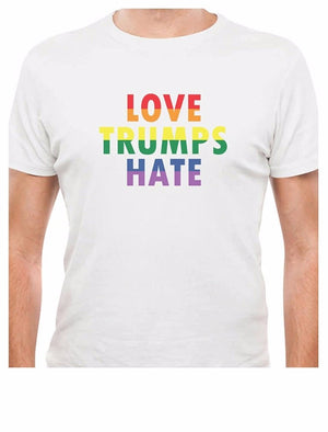 Love Trumps Hate T-Shirt - freeloveapparel