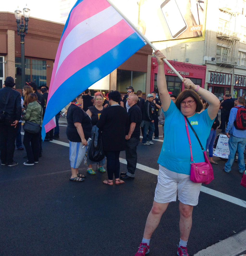 Transgender Pride Flag - freeloveapparel