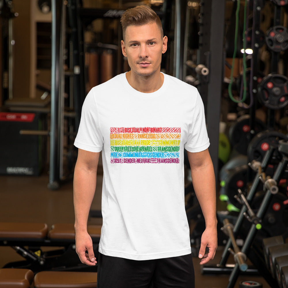 Textile Pride Shirt - freeloveapparel