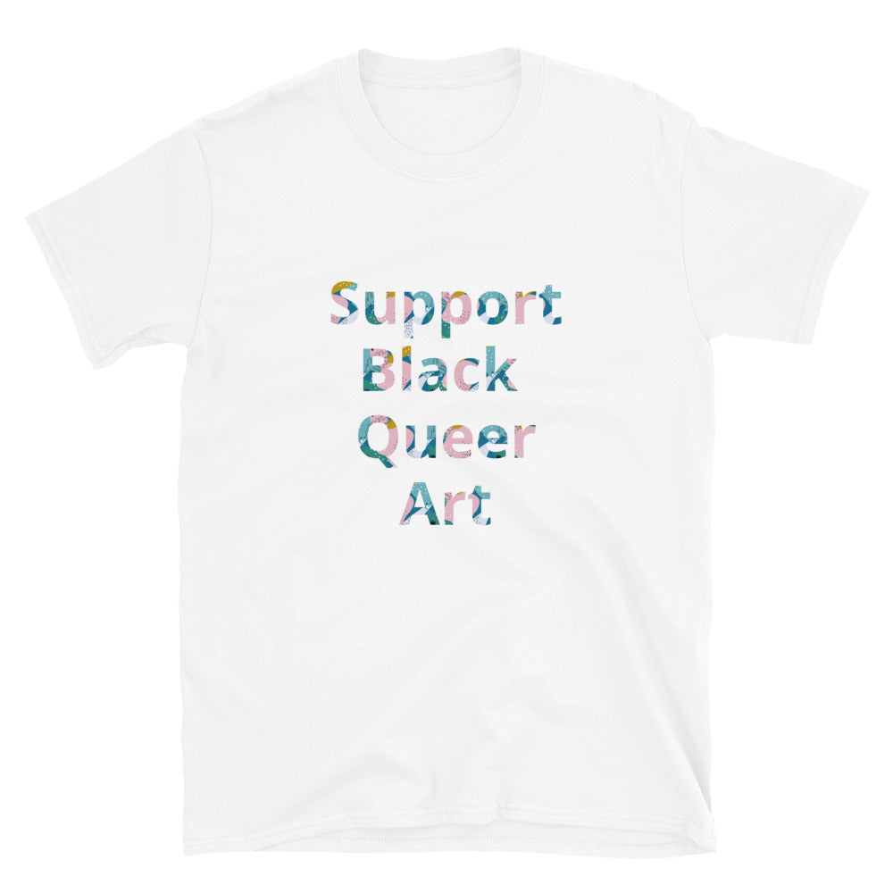 Support Black Queer Art Shirt - freeloveapparel