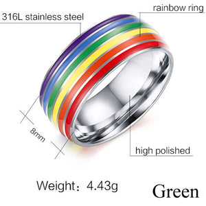 Unisex Pride Ring - freeloveapparel