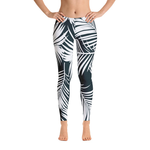 Tropical Leafs Leggings
