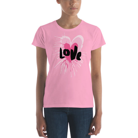 Women's short sleeve Love t-shirt