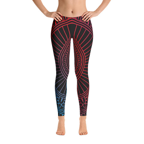 Mandala Print Leggings