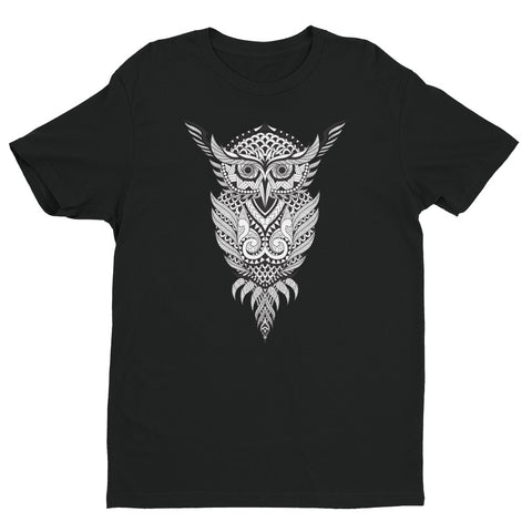 Geometrical Owl Short Sleeve T-shirt