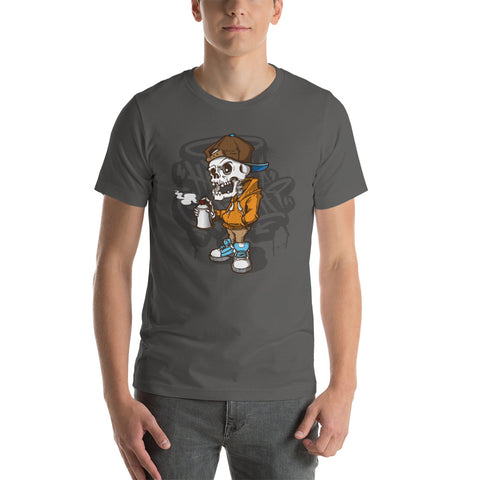 Skeleton graffiti T-Shirt