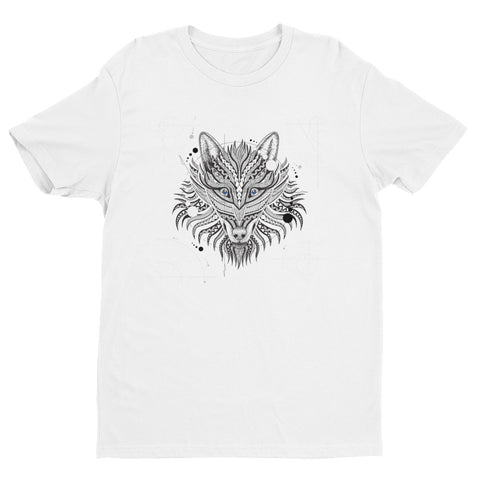 Geometrical Wolf Short Sleeve T-shirt