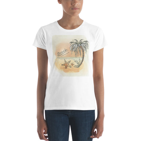 Women's Beach short sleeve t-shirt