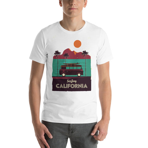 Surfing CaliforniaT-Shirt