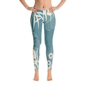 Tropical Summer Leggings