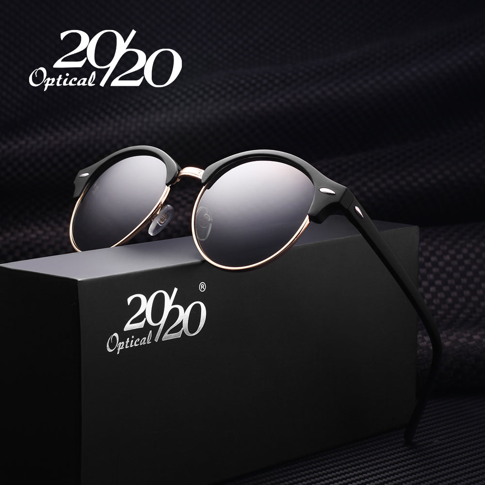 20/20 Retro Rivet Polarized Sunglasses
