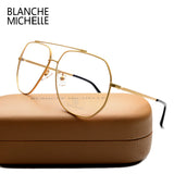 BLANCHE MICHELLE Fashion Stainless Steel Glasses