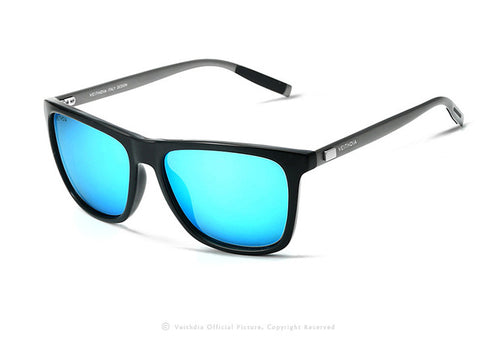 VEITHDIA Men's Retro Aluminum Sunglasses TR90
