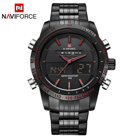 Stainless Steel Men's Watch Army