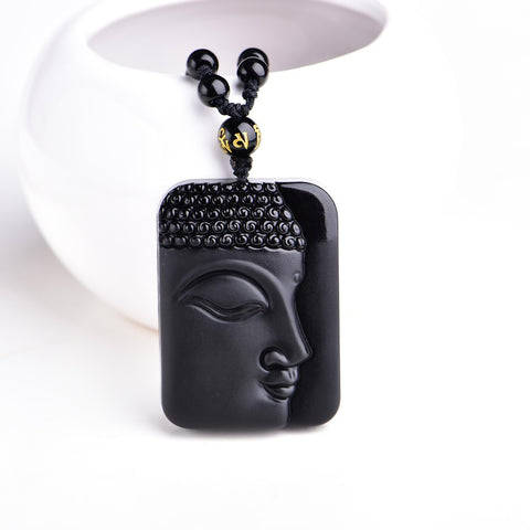 Buddha Carved Face Lucky Amulet