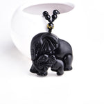 Mother/Baby Elephant Amulet