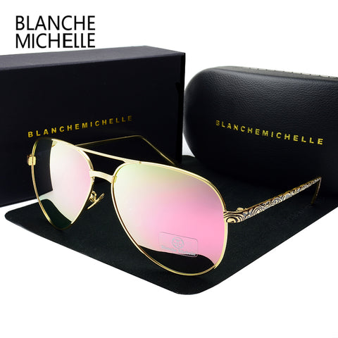 BLANCHE MICHELLE Aviator Sunglasses