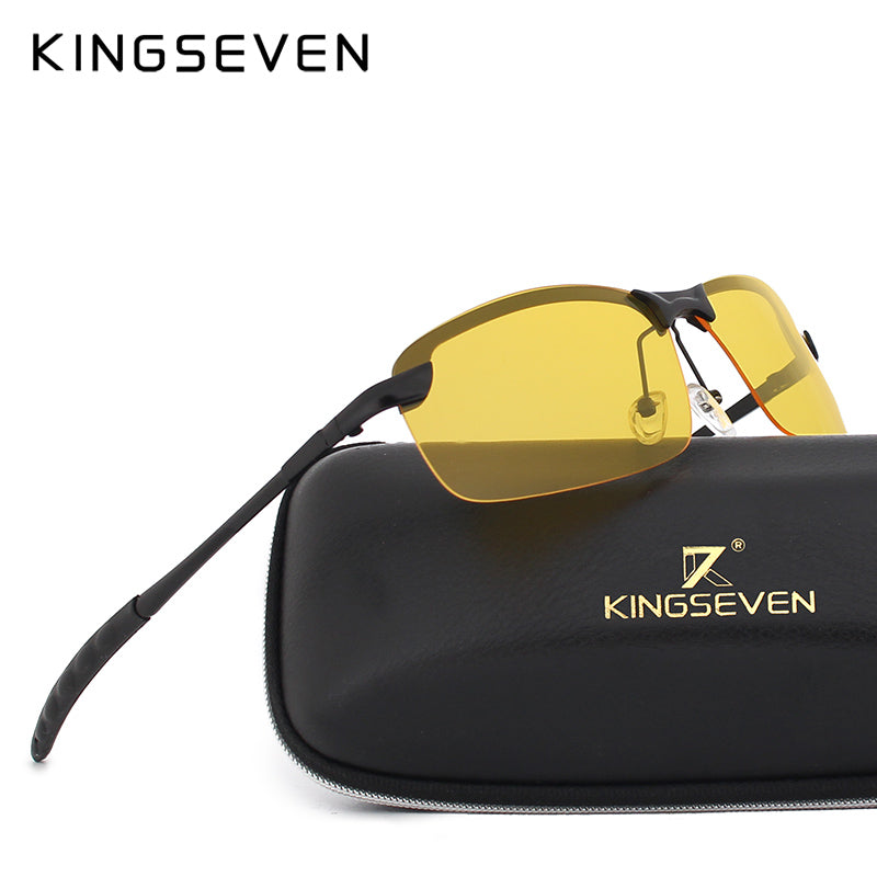 a0170d81c5 KINGSEVEN Night Vision Polarized Sunglasses – Forever Nines