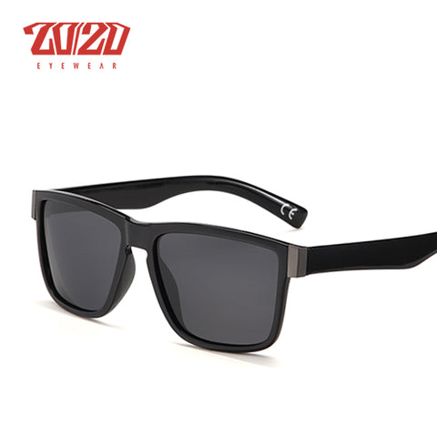 20/20 Coating Black Square Frame