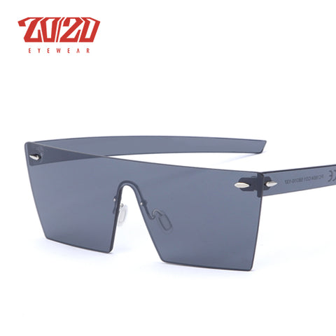 20/20 Rimless Square Frame