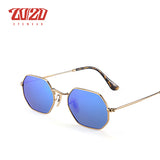 20/20 Classic Shield Metal Sunglasses