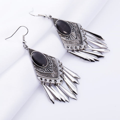 Brand Long Earrings