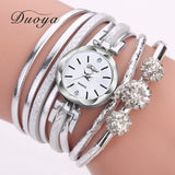 Silver Crystal Watch