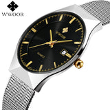 WWOOR Ultra Thin Steel Strap