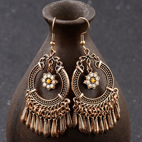 Vintage Dangle Drop Earrings