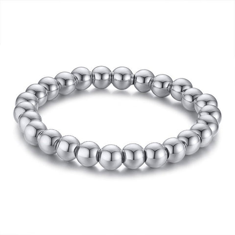 Naga Silver Dragon Head Bracelet