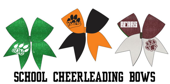 School Cheerleading Bows