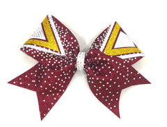 The Sydney Bow Maroon & Gold