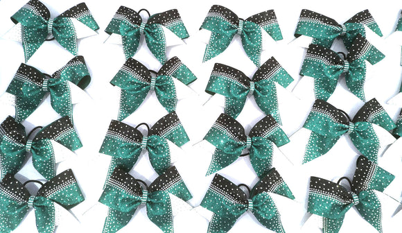 Rhinestone Cheerleading Hair Bows | Cheer Bows Etc