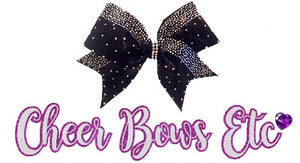 Cheer Bows Etc Official Logo