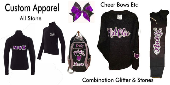 Custom Cheerleading Apparel