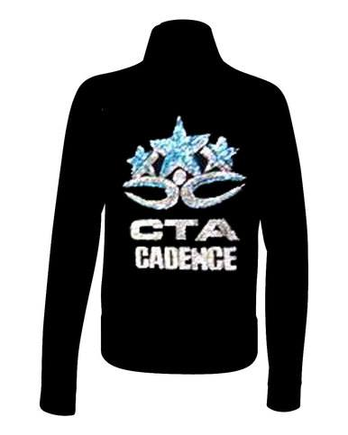 Full Rhinestone Custom Logo Team Jacket