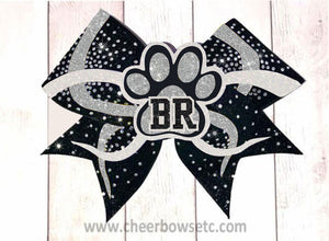 3D infinity Team Lettered Bow