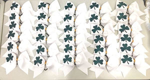Shamrock team bows